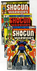 Bronze Age (1970-1979):Cartoon Character, Shogun Warriors Group (Marvel, 1978-80) Condition: Average NM.Includes #1 (2 copies), #2 (2), #3 (2), 4, 6, 8, 9, 11, 12, 1...(Total: 19 Comic Books)