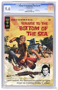 Voyage to the Bottom of the Sea #6 File Copy (Gold Key, 1966) CGC NM+ 9.6 Off-white pages. Painted cover. Back cover pin...