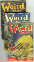 Pulps:Horror, Weird Tales (Pulp) Group (Popular Fiction, 1943-47). This lotconsists of issues from May/43 (GD, cover detached); March/44 ...(Total: 7 Items)