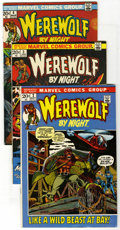 Bronze Age (1970-1979):Horror, Werewolf by Night Group (Marvel, 1972-77) Condition: Average VF.Includes #2, 3, 4, 5, 6, 8, 11, 12, 13, 14, 17, 18, 19, 20,...(Total: 30 Comic Books)