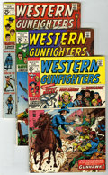 Bronze Age (1970-1979):Western, Western Gunfighters #1-7 Group (Marvel, 1970-72) Condition: Average VF/NM. Includes issues #1 (Ghost Rider features begin), ... (Total: 6 Comic Books)