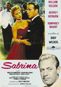 "Movie Posters:Romance, Sabrina (Paramount, R-1962). Italian Photobustas (3) (18.5"" X 27""). Offered in this lot are three re-issue photobustas to th... (Total: 3 Items)"