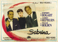 "Movie Posters:Romance, Sabrina (Paramount, 1954). Italian 2 - Folio (39"" X 55""). BillyWilder directs this lighthearted romantic comedy, based on t..."