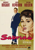 """Movie Posters:Romance, Sabrina (Paramount, 1954). German (23"""" X 34""""). Audrey Hepburn shines in director Billy Wilder's romantic comedy about a chau..."""