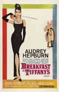 "Movie Posters:Comedy, Breakfast at Tiffany's (Paramount, 1961). One Sheet (27"" X 41""). Audrey Hepburn stars in Truman Capote's story of the offbea..."