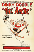 "Movie Posters:Animated, The Arctic (Bray, 1926). One Sheet (27"" X 41""). This joint effortbetween writer/director/creator Walter Lantz (of Woody Woo..."