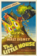 "Movie Posters:Animated, The Little House (RKO, 1952). One Sheet (27"" X 41""). Even back in1952, urban sprawl was a problem that Walt Disney addresse..."