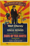 "Movie Posters:Animated, Song of the South (RKO, R-1956). Poster (40"" X 60""). ""Song of the South"" is a blend of live action and animation, based on t..."