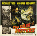 "Movie Posters:War, Dam Busters (Associated British-Pathé Limited, 1954). British SixSheet (81"" X 81""). This film is the story of the developme..."