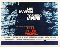 """Hell in the Pacific (Cinerama Releasing, 1968). British Quad (30"""" X 40""""). An American pilot (Lee Marvin) and a..."""