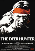 "Movie Posters:War, The Deer Hunter (Universal, 1978). British One Sheet (27"" X 40"").Overseas, the Academy Award winning film starring Meryl St..."