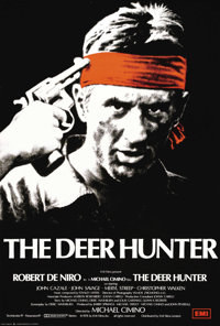 "The Deer Hunter (Universal, 1978). British One Sheet (27"" X 40""). Overseas, the Academy Award winning film sta..."