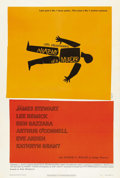 "Movie Posters:Crime, Anatomy of a Murder (Columbia, 1959). One Sheet (27"" X 41"").Country lawyer James Stewart defends unsympathetic murder suspe..."