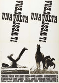 """Movie Posters:Western, Once Upon A Time in the West (Paramount, 1969). Italian 2 - Folio (39"""" X 55""""). Western...."""