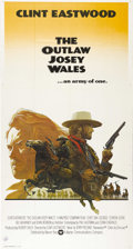 "Movie Posters:Western, The Outlaw Josey Wales (Warner Brothers, 1976). Three Sheet (41"" X81"") International. Clint Eastwood directs this film from..."