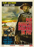 "Movie Posters:Western, For a Few Dollars More (United Artists, 1967). Italian 2 Folio (39""X 55""). The second in Sergio Leone's ""Man With No Name"" ..."