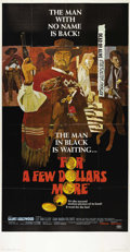 "Movie Posters:Western, For a Few Dollars More (United Artists, 1967). Three Sheet (41"" X 81""). Clint Eastwood and Lee Van Cleef star in this classi..."