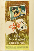 """Movie Posters:Drama, To Kill a Mockingbird (Universal, 1963). Poster (40"""" X 60""""). Thislarge size poster features a wonderful shot of Gregory Pec..."""