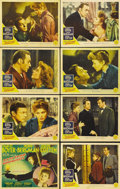 "Movie Posters:Film Noir, Gaslight (MGM, 1944). Lobby Card Set of 8 (11"" X 14""). GeorgeCukor, known for mainly directing ""women's"" pictures, directed...(Total: 8 Items)"