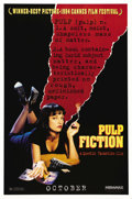 """Movie Posters:Action, Pulp Fiction (Miramax, 1994). One Sheet (27"""" X 41"""") Advance.Quentin Tarantino directs one of the most influential films of ..."""