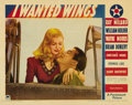 "Movie Posters:War, I Wanted Wings (Paramount, 1941). Lobby Card (11"" X 14""). Thisgorgeous portrait card shows Ray Milland and Veronica Lake in..."