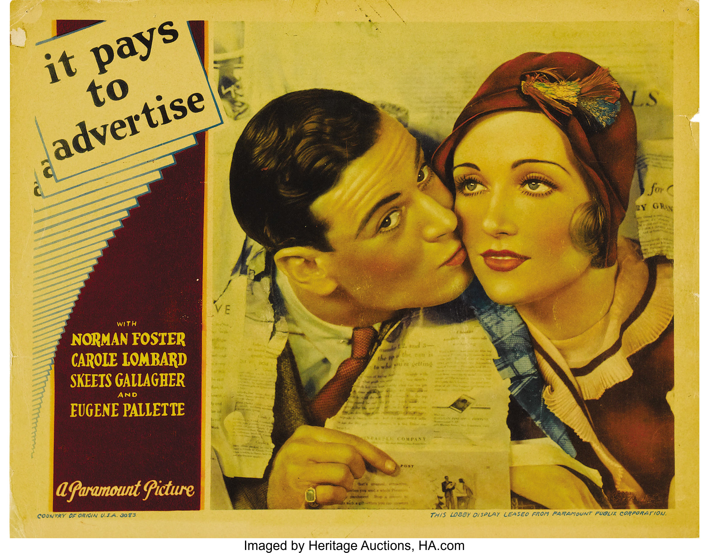 Image result for it pays to advertise 1931
