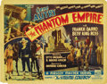 "Movie Posters:Science Fiction, The Phantom Empire (Mascot, 1935). Lobby Card (11"" X 14""). One ofthe best serials ever made, starring a Texas ranch boy tha..."