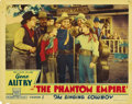 "Movie Posters:Science Fiction, The Phantom Empire (Mascot, 1935). Lobby Card (11"" X 14""). Here isthe hardest card to find next to the Title Card. It's the..."