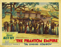 """The Phantom Empire (Mascot, 1935). Lobby Cards (3) (11"""" X 14""""). Here's a chance to fill in this impossible to..."""
