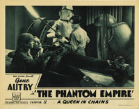 "The Phantom Empire (Mascot, 1935). Lobby Card (11"" X 14""). This great card shows all four of the stars of this..."