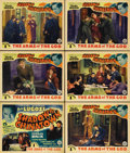 "Movie Posters:Serial, Shadow of Chinatown (Victory Pictures, 1936). Title Lobby Card (11""X 14"") and Lobby Cards (5) (11"" X 14"") Episode 1 -- ""The... (Total:6 Items)"