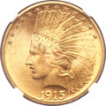 Indian Eagles, 1915 $10 MS64 NGC....