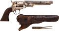 Handguns:Single Action Revolver, Manhattan Firearms Series 1 Percussion Revolver.... (Total: 2Items)