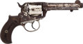 Handguns:Double Action Revolver, Colt Lightning Double Action Revolver....