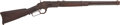 Long Guns:Lever Action, Winchester Model 1873 Lever Action Saddle Ring Carbine....