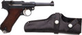 Handguns:Semiautomatic Pistol, German Unmarked Luger Semi-Automatic Pistol with Holster....
