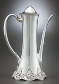 Silver Holloware, American:Coffee Pots, A TIFFANY & CO. SILVER DEMITASSE COFFEE POT . Tiffany &Co., New York, New York, circa 1894-1902. Marks: TIFFANY &CO, STE...