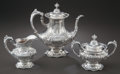 Silver Holloware, American:Tea Sets, A THREE-PIECE REED & BARTON FRANCIS I PATTERN SILVERCOFFEE SERVICE . Reed & Barton, Taunton, Massachusetts, cir...(Total: 4 Items)