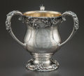 Silver Holloware, American:Loving Cup, A FRANK W. SMITH SILVER AND SILVER GILT LOVING CUP . Frank W. SmithSilver Co., Inc., Gardner, Massachusetts, circa 1905. Ma...