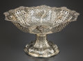Silver Holloware, British:Holloware, A ROBERT HARPER VICTORIAN SILVER AND SILVER GILT RETICULATED CENTERBOWL. Robert Harper, London, England, circa 1876-1877. M...