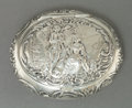 Silver Smalls:Snuff Boxes, A GEORG ROTH & CO. HANAU SILVER AND SILVER GILT SNUFF BOX .Georg Roth & Co., Hanau, Germany, circa 1900. Marks: (Acrowned)...
