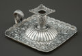 Silver Holloware, American:Chamber Sticks, A TIFFANY & CO. SILVER AND SILVER GILT CHAMBERSTICK. Tiffany& Co., New York, New York, circa 1882-1891. Marks: TIFFANY& ...