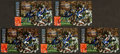 Autographs:Sports Cards, Signed 1995 Walter Payton '85 Super Bowl Anniversary Phone Cards(5). ...