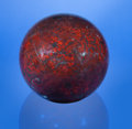 Lapidary Art:Lamps, STROMATOLITE SPHERE FEATURING THE OLDEST KNOWN FOSSIL ORGANISMS.Collenia undosa. Precambrian (Proterozoic).Biwab...