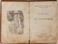 Books:Americana & American History, [Slavery]. Jack Ray, The Converted Slave. Carlton &Porter, [1849]. Publisher's blind-embossed cloth. Significant we...