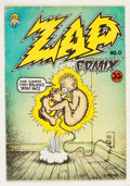 Silver Age (1956-1969):Alternative/Underground, Zap Comix #0 First Printing (Apex Novelties, 1968) Condition:VG-....