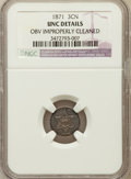 Three Cent Silver: , 1871 3CS -- Obverse Improperly Cleaned -- NGC Details. Unc. NGCCensus: (1/123). PCGS Population (1/91). Mintage: 3,400. Nu...