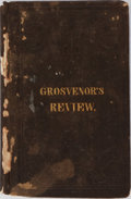 Books:Americana & American History, [Slavery]. Cyrus Pitt Grosvenor. A Review of the'Correspondence' of Messrs. Fuller & Wayland, On the Subject ofAmerica...