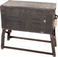 Military & Patriotic:WWI, U.S. Army Saddlers Chest For Battery Wagon, Circa WWI....