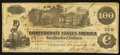 Confederate Notes:1862 Issues, T39 $100 1862 PF-16 Cr. 296.. ...